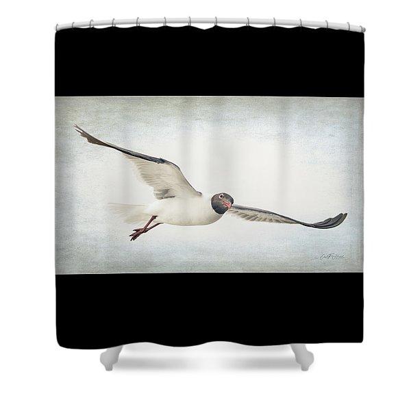 Watching You Watching Me Shower Curtain