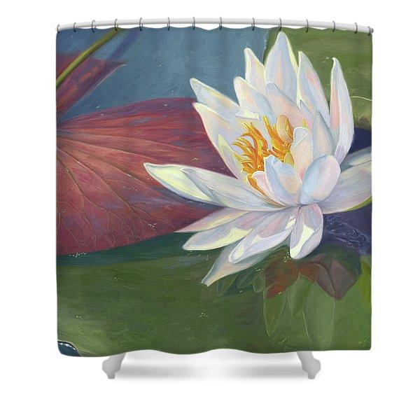 Water Beauty Shower Curtain