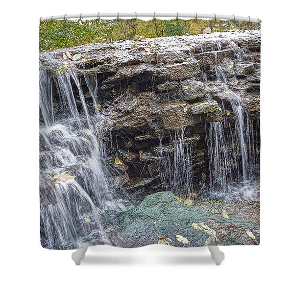 Waterfall @ Sharon Woods Shower Curtain