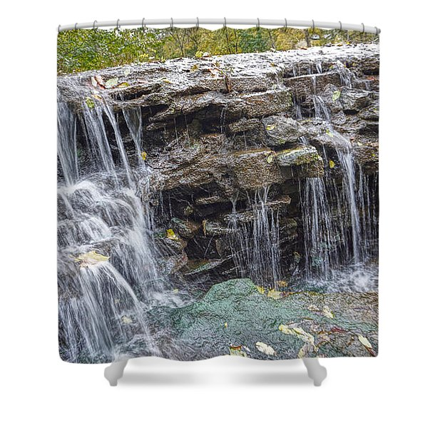 Waterfall @ Sharon Woods Shower Curtain