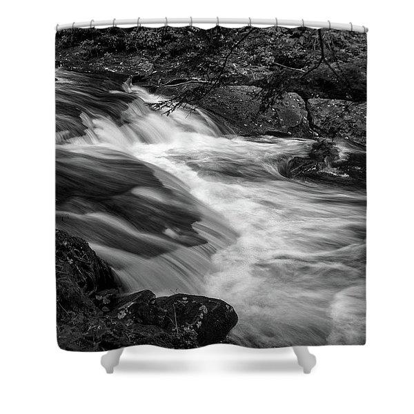 Waterfalls At Ricketts Glenn Shower Curtain