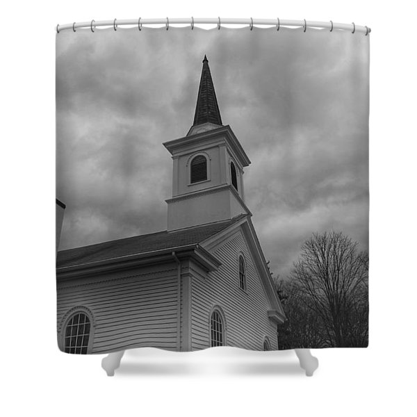 Waterloo United Methodist Church - Detail Shower Curtain