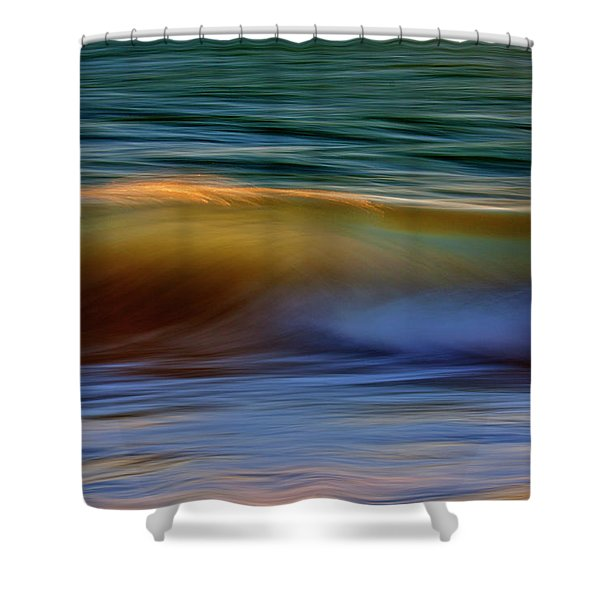 Wave Abstact Shower Curtain