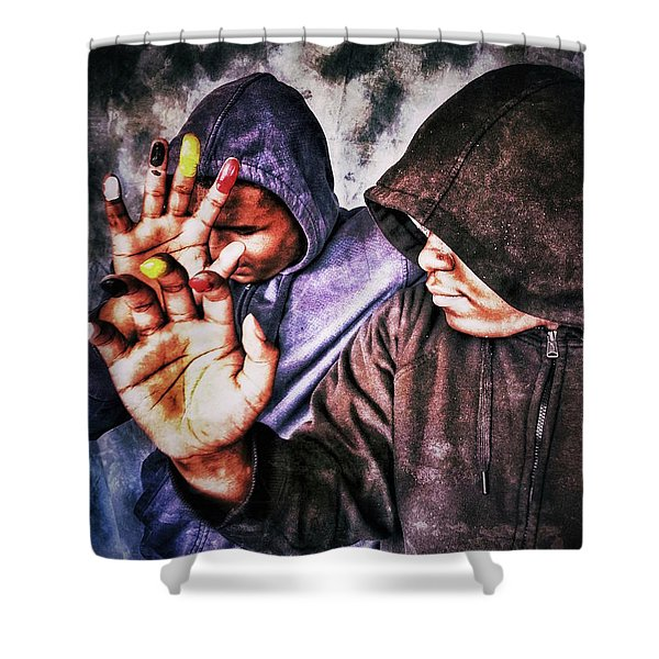 We Are One IIi Shower Curtain