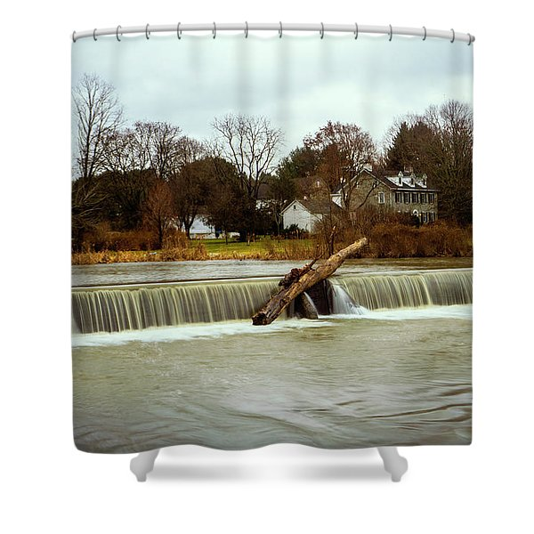 Wehr's Dam - Kodak Color Profile Shower Curtain