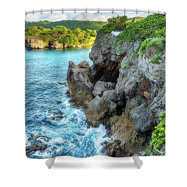 Welcome To Portland Jamaica Shower Curtain