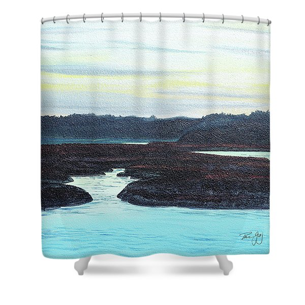 Wells, Me Shower Curtain