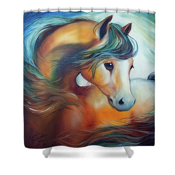 Wendy My Horse Shower Curtain