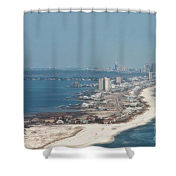 West Beach-1 Shower Curtain