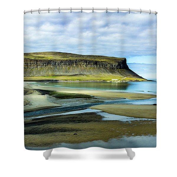 Westfjords, Iceland Shower Curtain