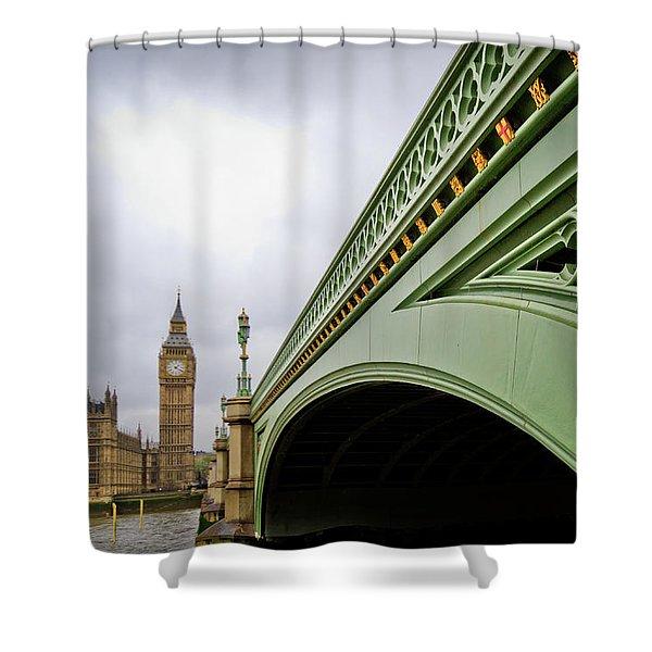 Westminster Bridge Shower Curtain