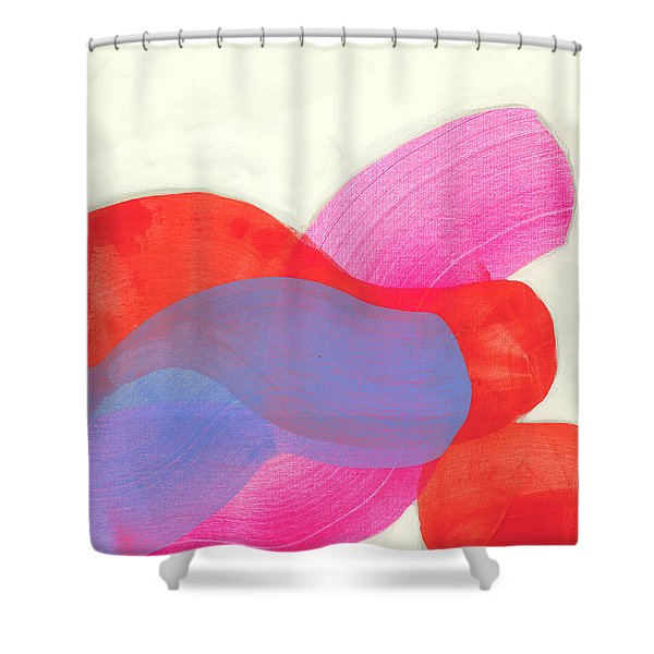 What To Say? Shower Curtain