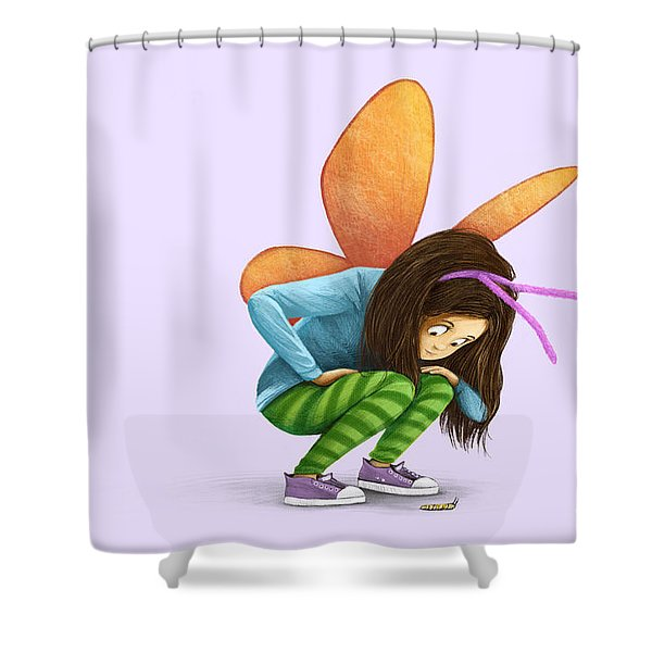 What Will You Be? Shower Curtain