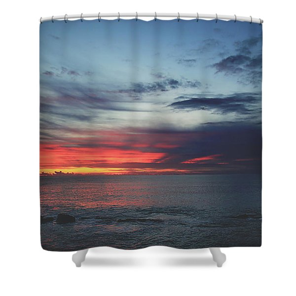 What's In Your Heart Shower Curtain