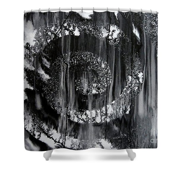 Wheel Shower Curtain