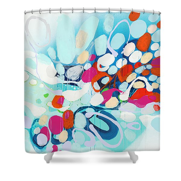 When Can I Come Over? Shower Curtain