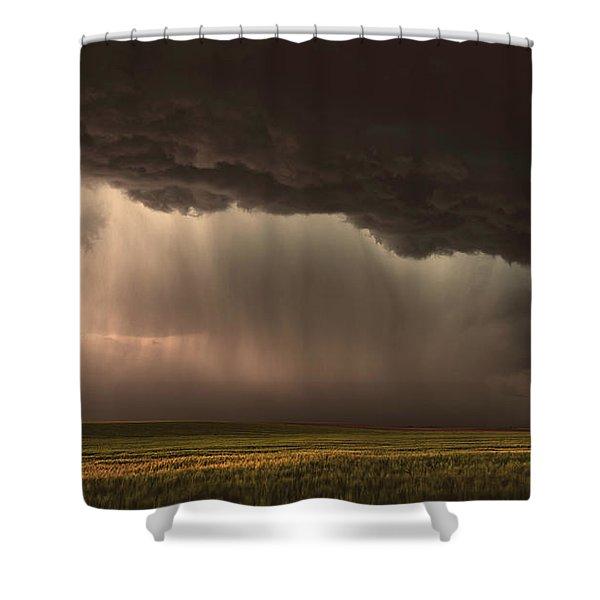 When Torrential Rains Fall Shower Curtain