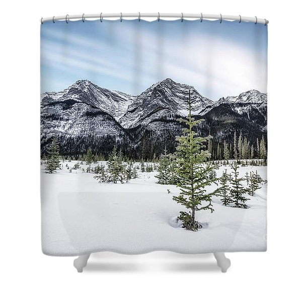 When Winter Comes Shower Curtain