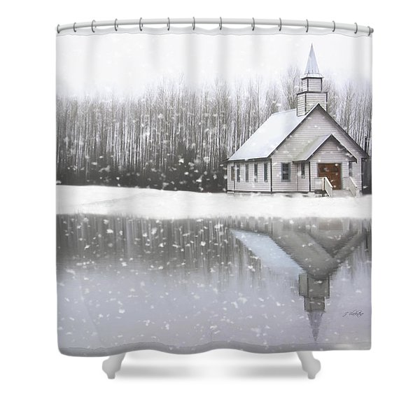 Where Hope Grows - Hope Valley Art Shower Curtain