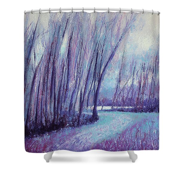 Whispering Woods Shower Curtain