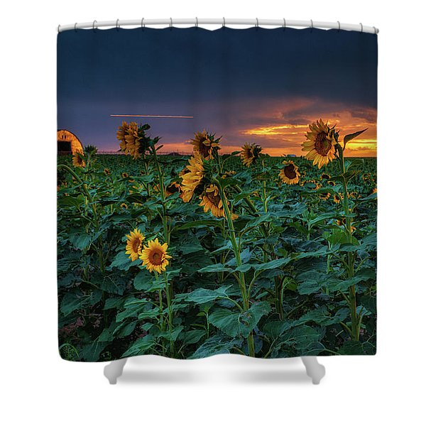 Shower Curtain featuring the photograph Whispers Of Summer by John De Bord