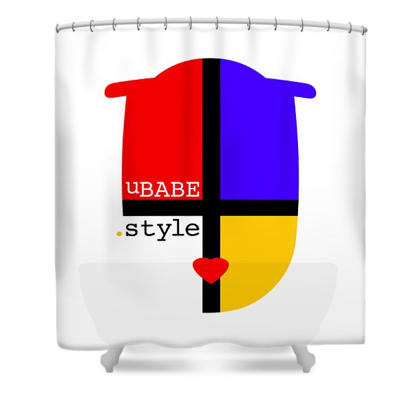 White Style Shower Curtain