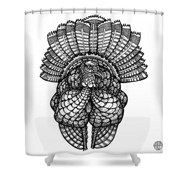 Wild Turkey Shower Curtain