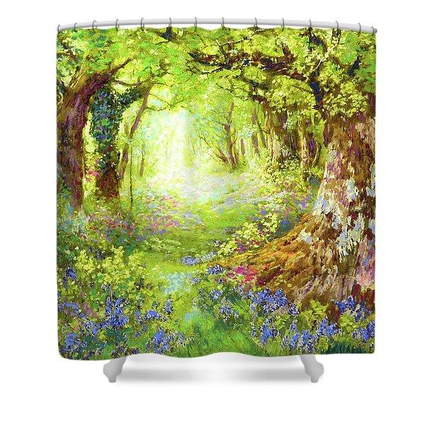 Wildflower Delight Shower Curtain