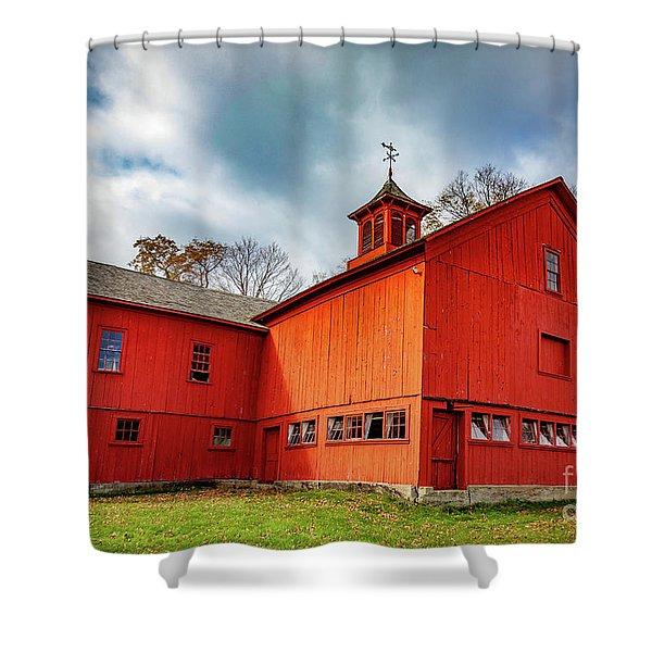 William Cullen Bryant Barn 2 Shower Curtain