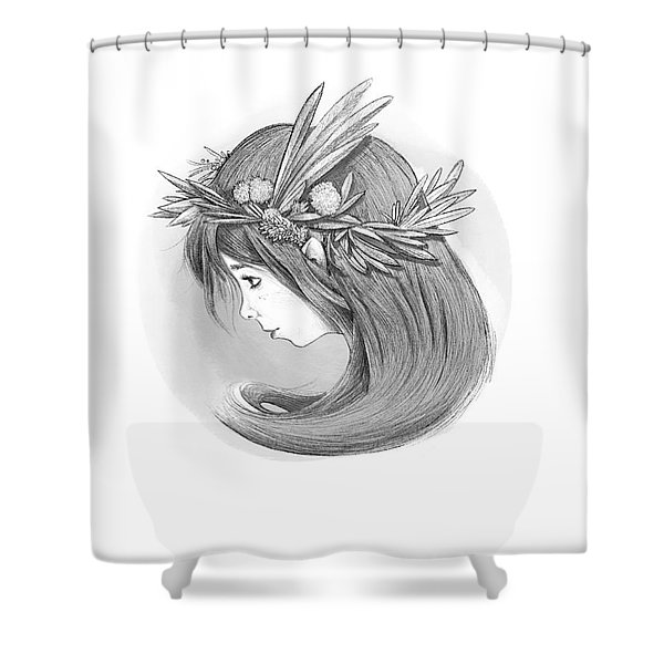 Willow's Whispers Shower Curtain