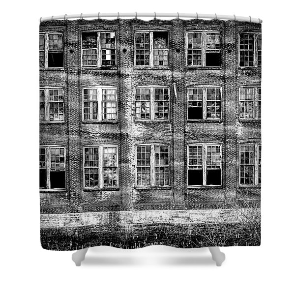 Windows Of Old Claremont Shower Curtain