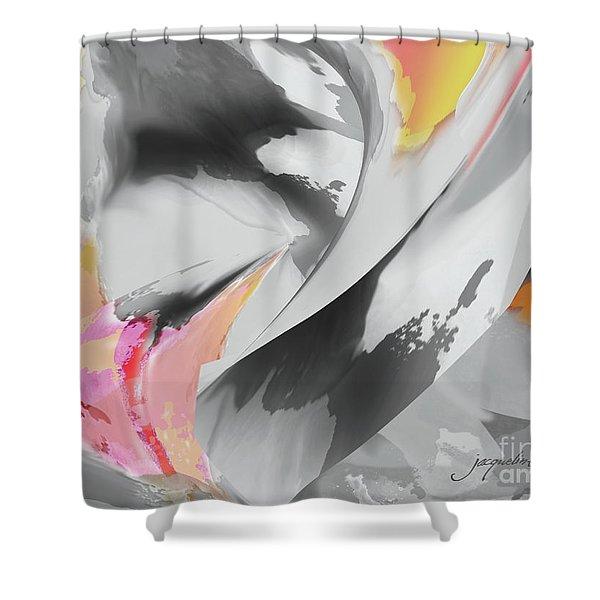Windy Flight Shower Curtain