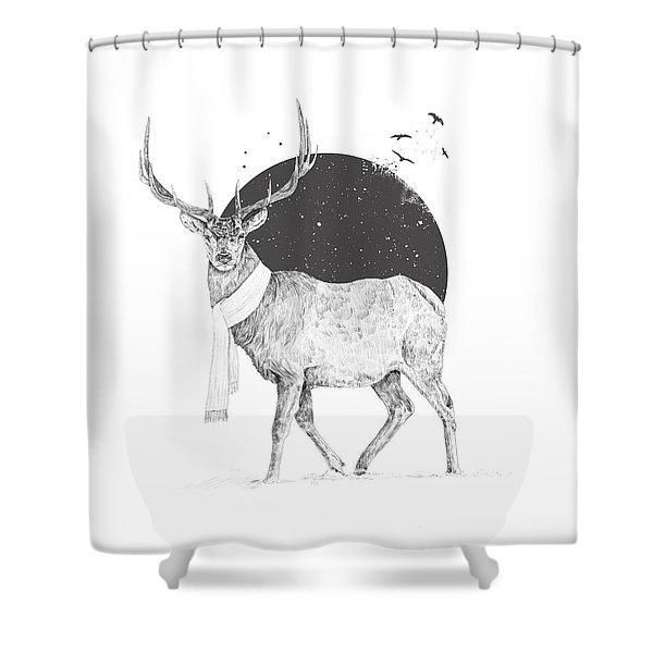 Winter Is All Around Shower Curtain