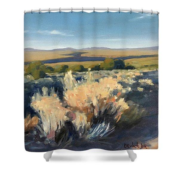 Winter Palette Shower Curtain