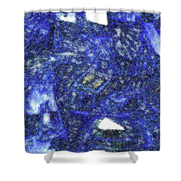 Winter Town Shower Curtain