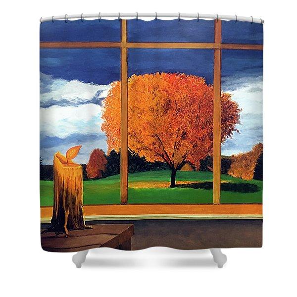 Wishful Thinking Shower Curtain