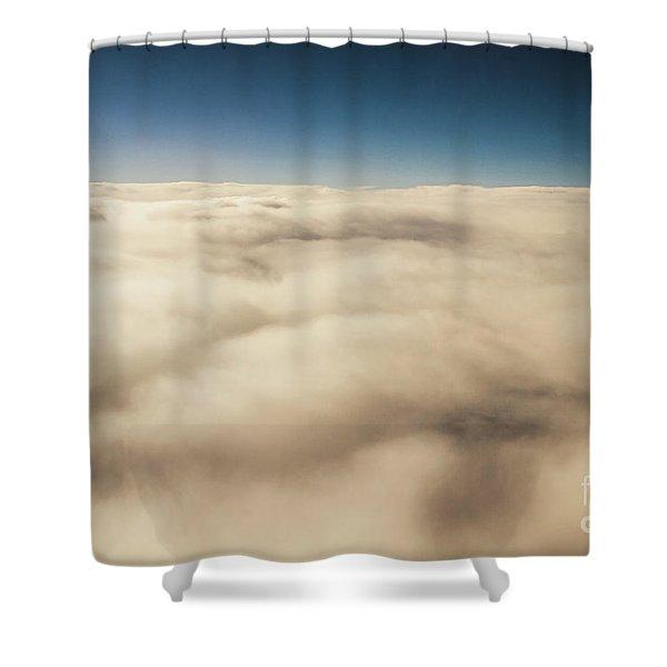 Wispy Heavens  Shower Curtain