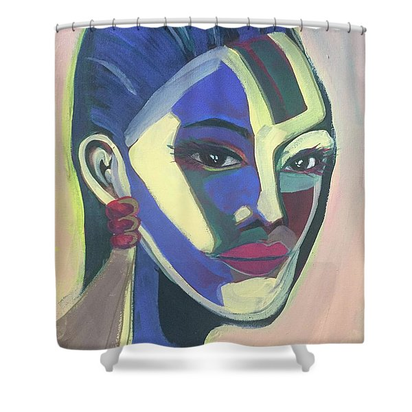 Woman Of Color Shower Curtain