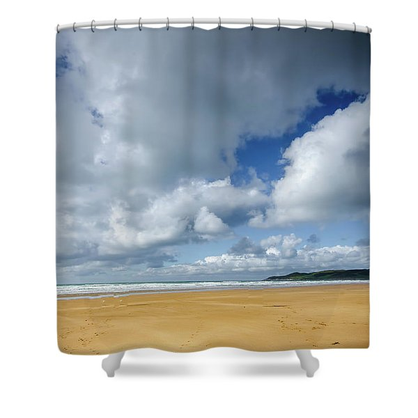 Woolacombe Skies Shower Curtain