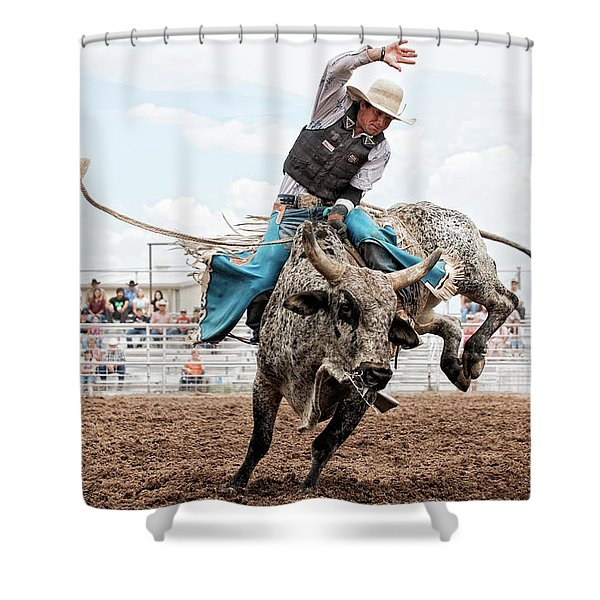 Working Rancher Rodeo Shower Curtain