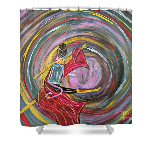 Wrapped In Love Shower Curtain