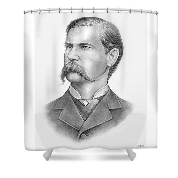 Wyatt Earp Shower Curtain