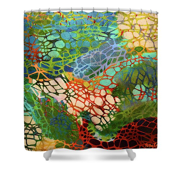 Xylem Shower Curtain