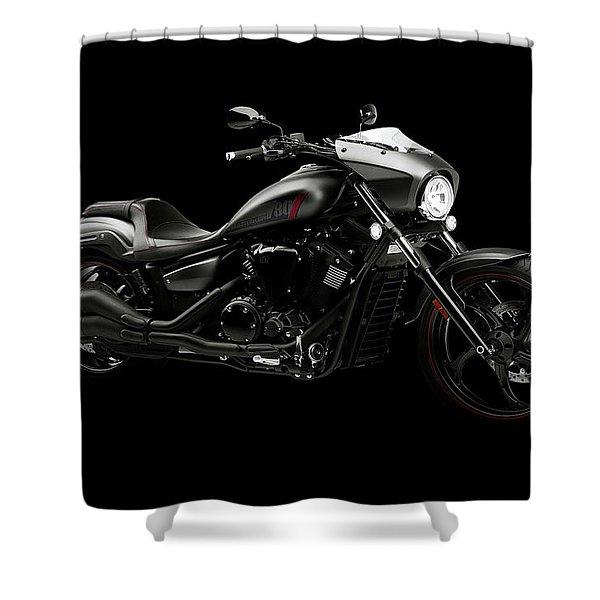 Yamaha Dragstar 650 Cruiser Shower Curtain