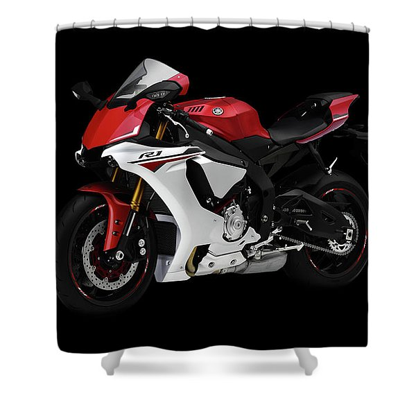 Yamaha Yzf-r1 Shower Curtain