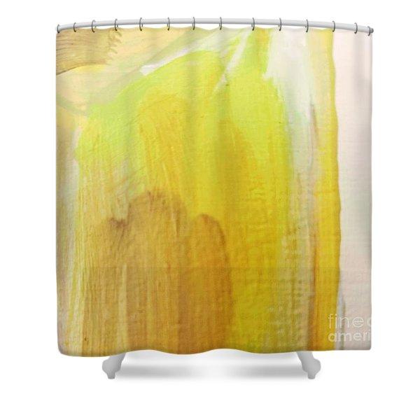 Yellow #3 Shower Curtain