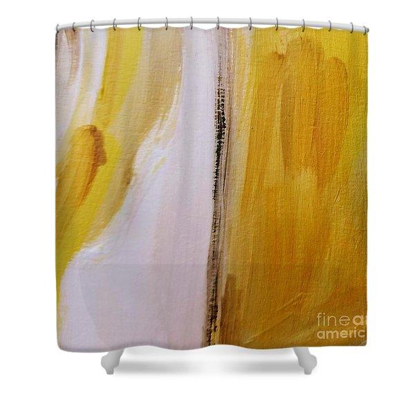 Yellow #5 Shower Curtain
