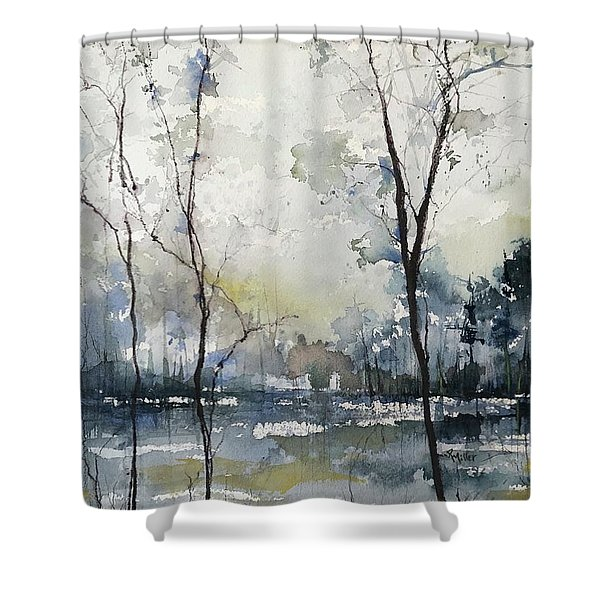 Yesterdays Colours Shower Curtain