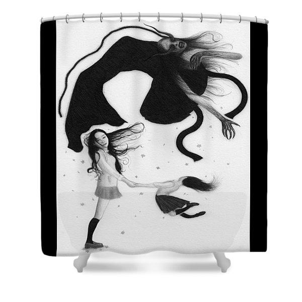 Yonokaze - Artwork Shower Curtain