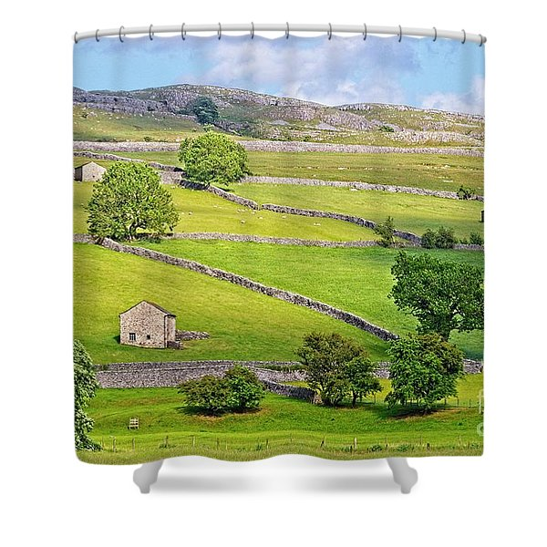 Yorkshire Dales Shower Curtain